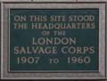 Image for London Salvage Corps - Watling Street, London, UK