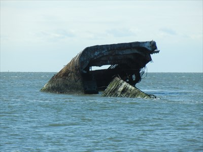 Offshore wreck