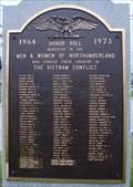Image for Vietnam War Memorial  -  Groveton, NH