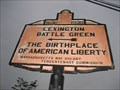 Image for Lexington Battle Green <-- The Birthplace of American Liberty