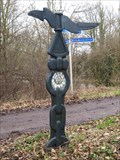Image for Millenium signpost - Old Railway walk - Gt Linford, Buck's
