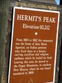 Image for Hermit's Peak - Sapello, NM