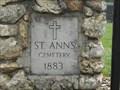 Image for St. Anne's churchyard cemetery - Bristol, VA