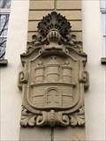 Image for Hamburg-Wappen am Gymnasium Hoheluft - Hamburg, Germany