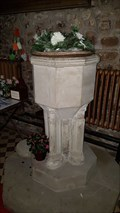 Image for Baptism Font - All Saints - Cadeby, Leicestershire