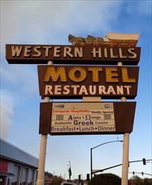 Historic Route 66 - Western Hills Motel