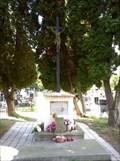 Image for Central Cross Libcice nad Vltavou Catholic Cemetery, Czechia