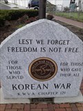 Image for Korean War Memorial - Reading, OH