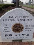 Image for Korean War Memorial - Reading, OH