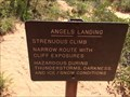 Image for Angels Landing Trail - Springdale, UT