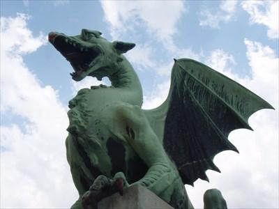 Dragon Bridge - Ljubljana, Slovenia