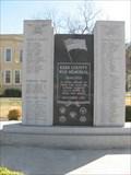 Image for Kerr County War Memorial - Kerrville, Texas