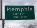 Image for Memphis, TX - Population 2290