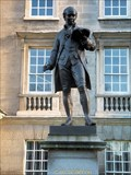 Image for Oliver Goldsmith Statue - Trinity College, Dublin, Ireland