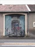 Image for La porte du village de Jeandelize (Lorraine)