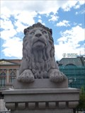 Image for Storting Building Lions - Oslo, Norway
