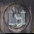 Image for Znak Príbrami na pomníku obetem I. sv. války / Príbram CoA on WWI monument - Príbram (Central Bohemia)