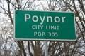 Image for Poynor, TX - Population 305
