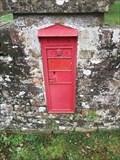 Image for Victorian Wall Post Box - Easton, near Newbury, Berkshire, UK