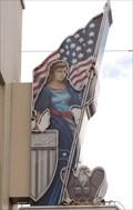 Image for Lady Columbia - Artistic Neon - Ybor City, Florida, USA.