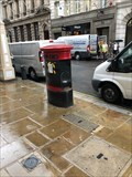 Image for Victorian Pillar Box - Cornhill, City of London, UK