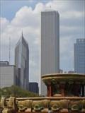 Image for Buckingham Fountain - Satellite Oddity - Chicago, Illinois, USA.