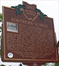 Image for Southern School -- Marker #12-71