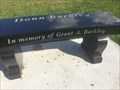 Image for Grant A. Barkley Bench - Scotland, ON
