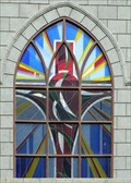 Image for Penang Chinese Methodist Church Windows - Georgetown, Malaysia