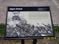 Image for Night Attack historical marker at Fort Sumter - Charleston, SC