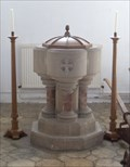 Image for Font - Church of St Mary the Virgin, Layer Marney, Essex. CO5 9UR.