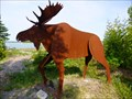 Image for Marvin the Moose - Detour - Michigan.