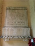 Image for Memorial plaque, St Mary - Burgate, Suffolk
