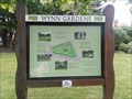 Image for Wynn Garden's Map of Gardens, East Entrance - Old Colwyn, Wales