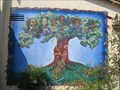 Image for Tree mural - Greenfield Library - Greenfield, CA