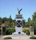 Image for World War II Memorial, Avenue of the Flags, San Rafael, CA, USA