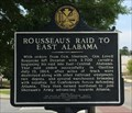 Image for Rosseau's Raid to East Alabama - Opelika, AL