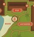 Image for Polynesian Map (North Beach) - Lake Buena Vista, FL, USA