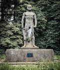 Image for Ehrenmal mit Siegfriedstatue für die Gefallenen des 1. Weltkriegs, Sankt Augustin, NRW, Germany