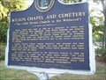 Image for Wilson Chapel and Cemetery - Birmingham, Alabama