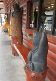 Three Bears - Artistic Seating - Gatlinburg, TN.