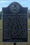 Image for Bay's Chapel Cemetery