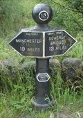 Image for Rochdale Canal Mile 13 Milepost – Warland, UK