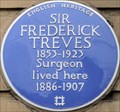 Image for Sir Frederick Treves - Wimpole Street, London, UK