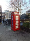 Image for Red Telephone Box - Bloomsbury Square, London, UK
