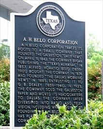 A. H. Belo Coporation
