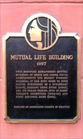 Image for Mutual Life Building Historical Marker - Seattle, WA