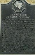 Image for Texas Tech Judging Pavilion
