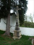 Image for Centrální kríž  na hrbitove/ Central cross on churchyard,  Lipolec,  Czech republic