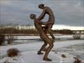 Image for Couple enjoué, Parc Beauséjour, Rimouski, Québec